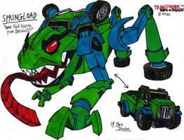 Transformers Robots in Disguise (2015)- Springload by KrytenMarkGen-0