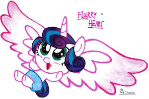 MLP - Flurry Heart by KrytenMarkGen-0