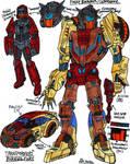 Transformers Burning Fury - Freddy and Chromedome