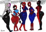 Five Jealous Spiders [Request]