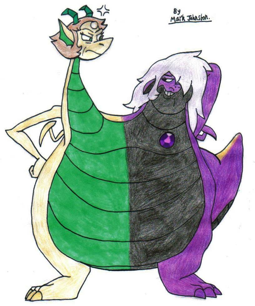 Crystal Gem Dragons [Request] by KrytenMarkGen-0 on DeviantArt
