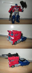 TF WFC-S11 - Optimus Prime by KrytenMarkGen-0