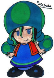 Marcy, as a Toad