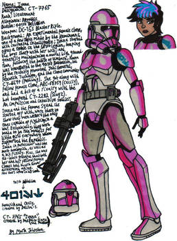 Clone Trooper Ivana (401st Battalion)