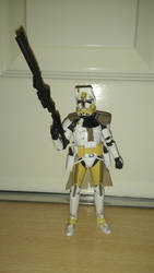 SW The Black Series - Clone Commander Bly