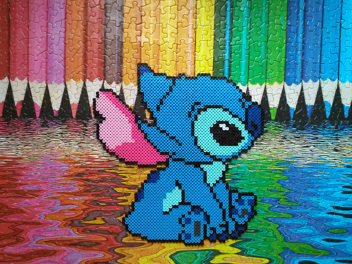 Stitch by higurashikarly on deviantart for Lilo and stitch arts and crafts