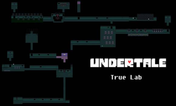 Undertale Complete Map: True Lab