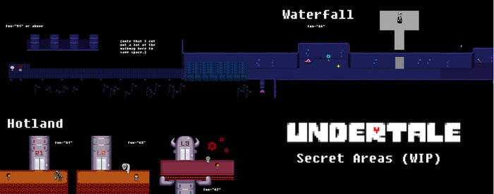 Undertale (IN)Complete Map - Secret Areas by Papikari