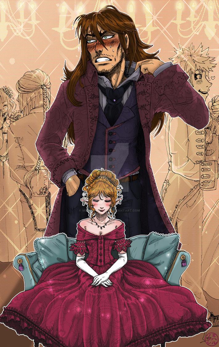 Le bal de la comtesse sanglante by MiharuSokushi