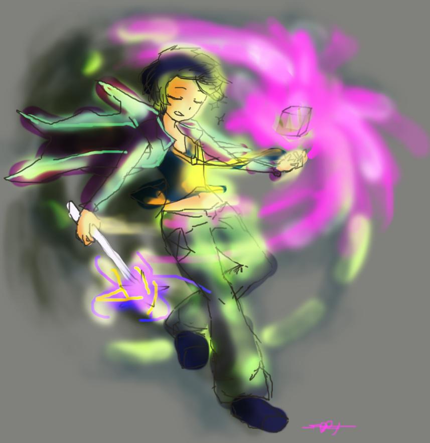 Magic. Magic magic magiiiiiiiic by Kaelius