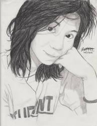 Portrait Pencil #9 by Herleos