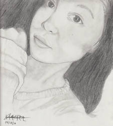 Portrait Pencil #8 by Herleos