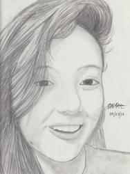Portrait Pencil #10 by Herleos