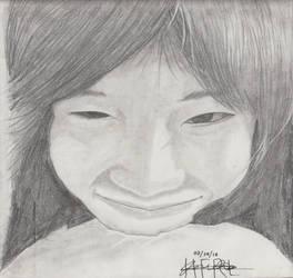 Portrait Pencil #11 by Herleos