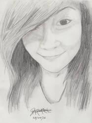 Portrait Pencil #12 by Herleos