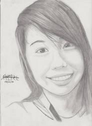 Portrait Pencil #13 by Herleos