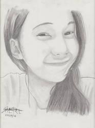 Portrait Pencil #14 by Herleos