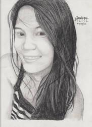 Portrait Pencil #16 by Herleos