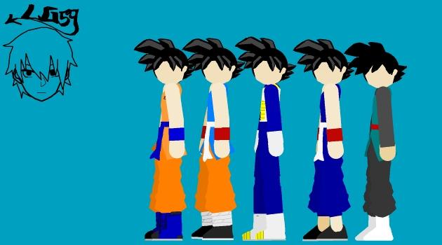 DragonBallPivotPack: Goku#4 by Herleos