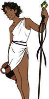 Dionysus by y2hecate