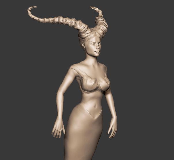 Practice sculpt by lilitharten