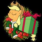 Applejack of Xmas Present