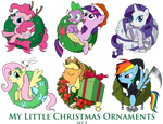 My Little Pony Christmas Ornaments Set 1 DOWNLOAD