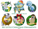 My Little Pony Christmas Ornaments Set 2 DOWNLOAD