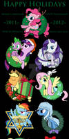 My Little Pony Christmas and Holiday Ornaments