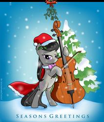 Octavia Seasons Greetings Thank You Card