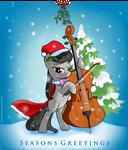 Octavia Seasons Greetings Thank You Card by SouthParkTaoist
