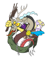 Discord as Krampus Beksnickel by SouthParkTaoist