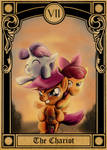 Pony Tarot Cards: Cutie Mark Crusaders the Chariot