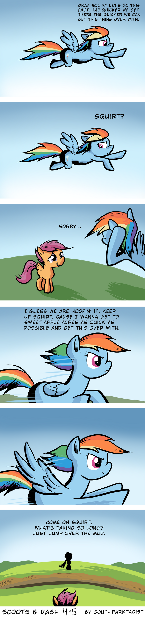 Scoots and Dash Part 4 and 5 by SouthParkTaoist