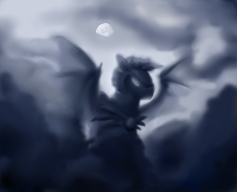 Princess Luna's Nightguard by SouthParkTaoist
