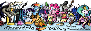 My Little Pony Thanksgiving