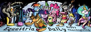 My Little Pony Thanksgiving