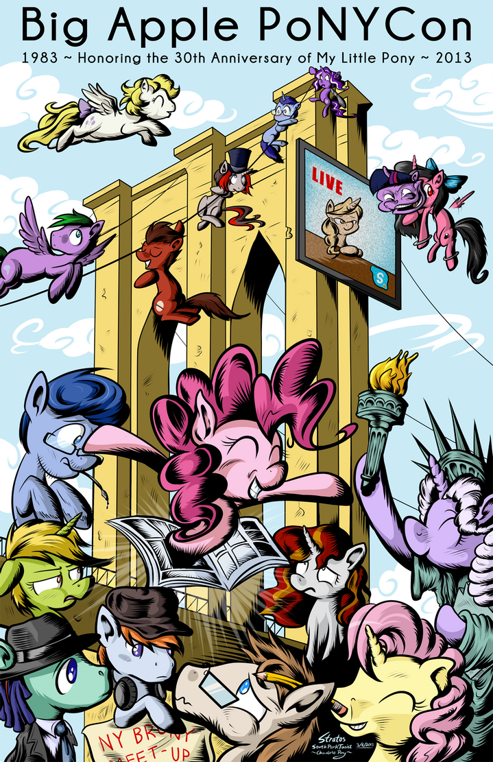 Big Apple PoNYCon 2013 by SouthParkTaoist