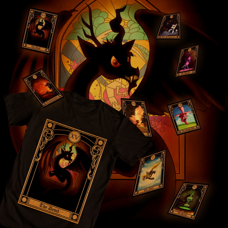 Discord Tarot Shirt Design by SouthParkTaoist
