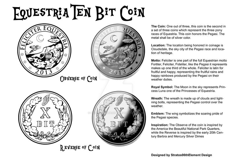 Equestria Ten Bit Coin by SouthParkTaoist