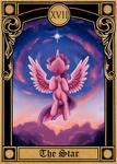 Pony Tarot Cards: Twilight Sparkle as the Star