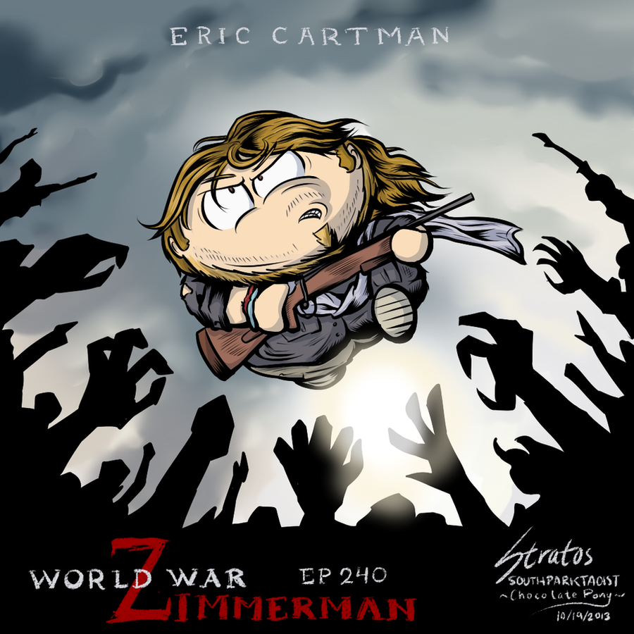 South Park EP 240 World War Zimmerman by SouthParkTaoist