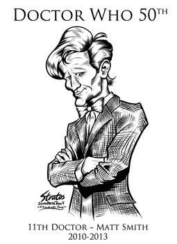 Doctor Who 11th Doctor Matt Smith