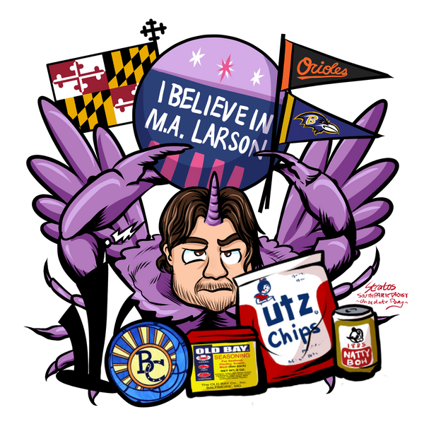 Crab A. Larson by SouthParkTaoist