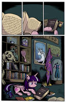 Pony Puff Princess in the Forbidden Library by SouthParkTaoist