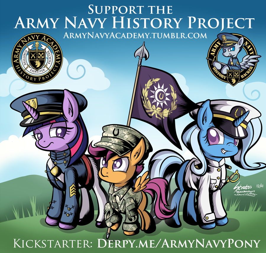 5 Days Left for Army Navy Project! by SouthParkTaoist