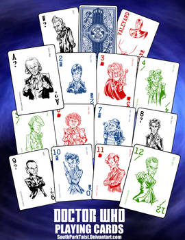 Doctor Who Playing Cards