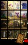 My Little Pony Minor Arcana Royal Court Tarot Card by SouthParkTaoist