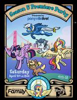 My Little Pony Season 5 Premiere Party by SouthParkTaoist