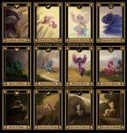 My Little Pony Tarot Updated Minor Arcana by SouthParkTaoist